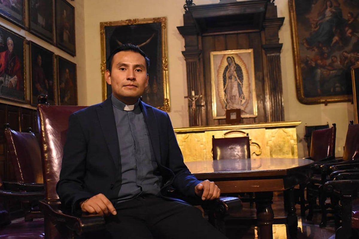 El diácono Luis Antonio García. Foto: Ricardo Sánchez.
