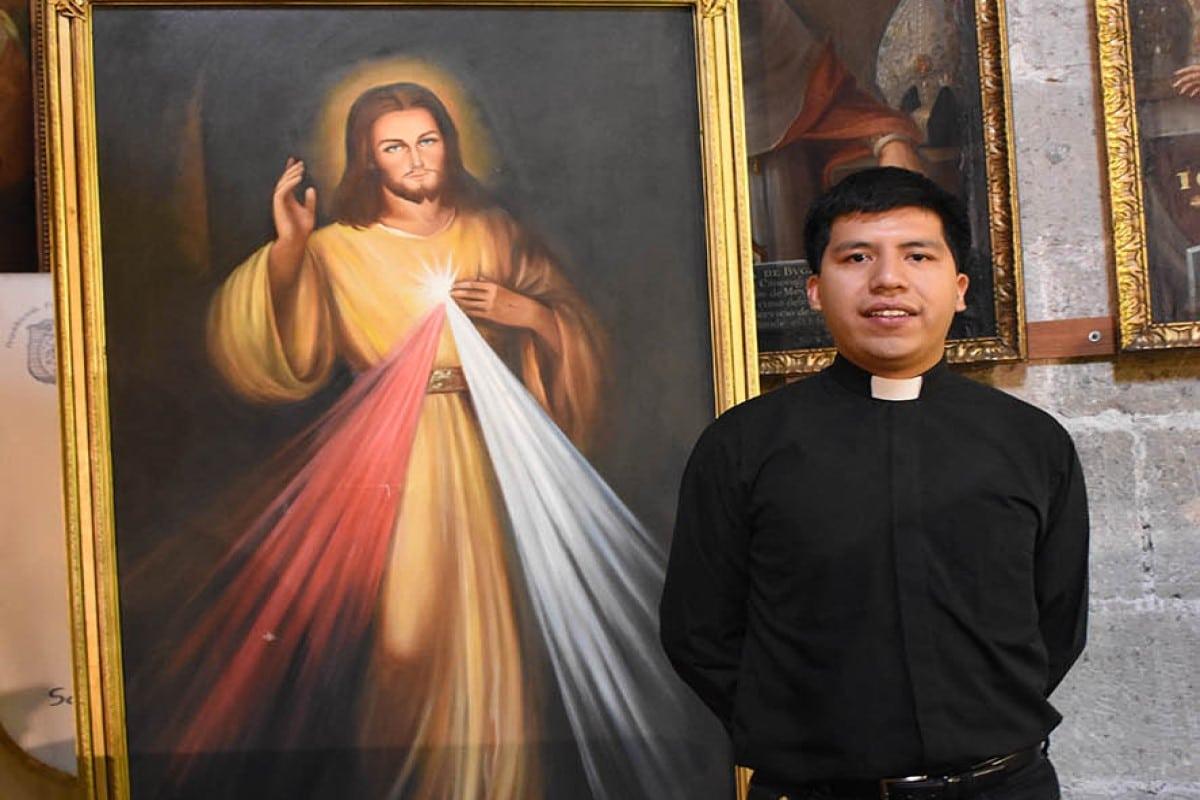 Alejandro Vázquez Borja, desde joven estuvo seguro de su vocación como sacerdote. Foto: Ricardo Sánchez.