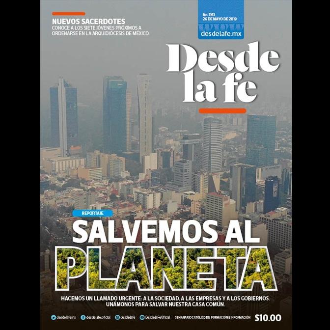 Esta edición la dedicamos a analizar el estado del medio ambiente y llamar a la conversión ecológica.