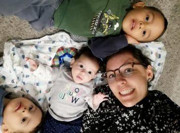 Mi tercer hijo me hizo mamá por primera vez