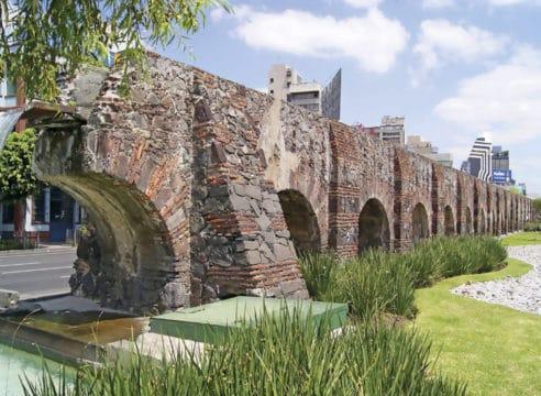 ¿Conoces el origen del acueducto de Chapultepec?