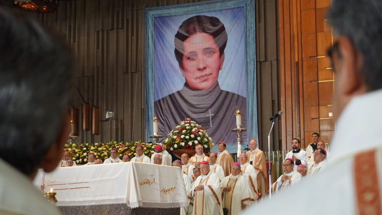 Concepción Cabrera de Armida fue beatificada en la Basílica de Guadalupe el 4 de mayo de 2019. Foto: INBG