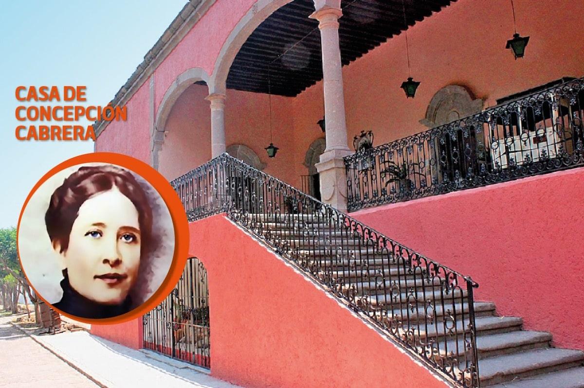 Concepción Cabrera vivió su juventud en Jesús María, San Luis Potosí.