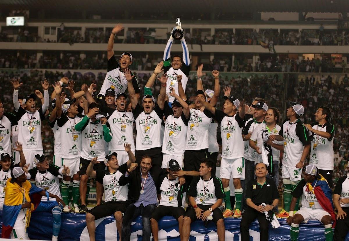 El Club León fue campeón de la Liga de Ascenso en 2012.