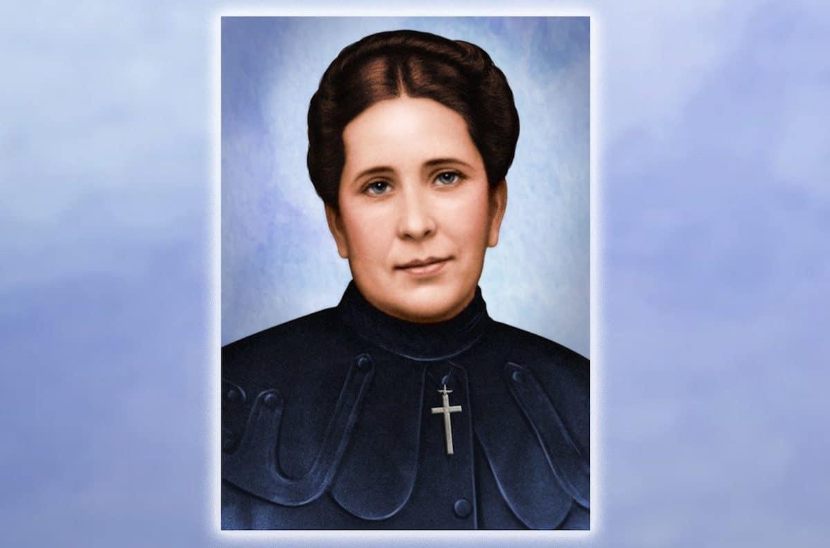 La beata Concepción Cabrera de Armida.