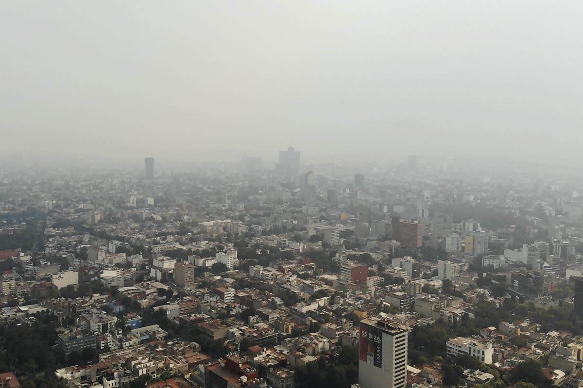 Contaminación en la Ciudad de México