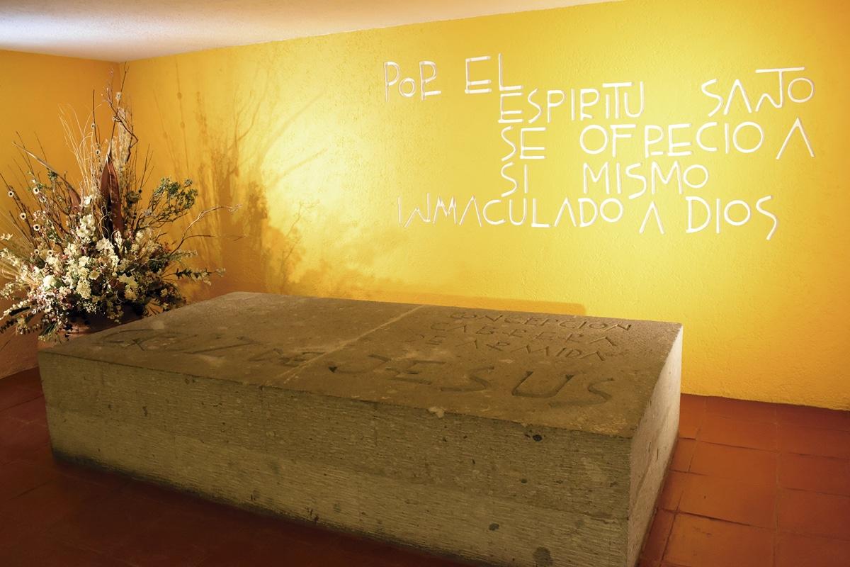 El sepulcro está en la Capilla de la Soledad. Foto: Ricardo Sánchez
