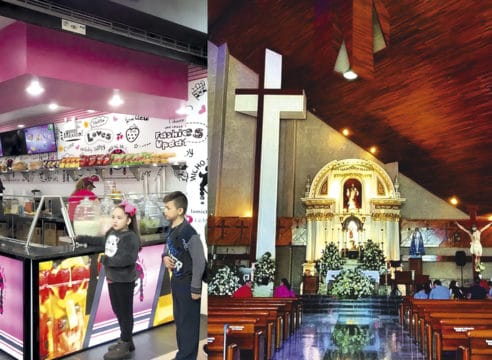 Esta es la iglesia construida gracias a las paletas La Michoacana