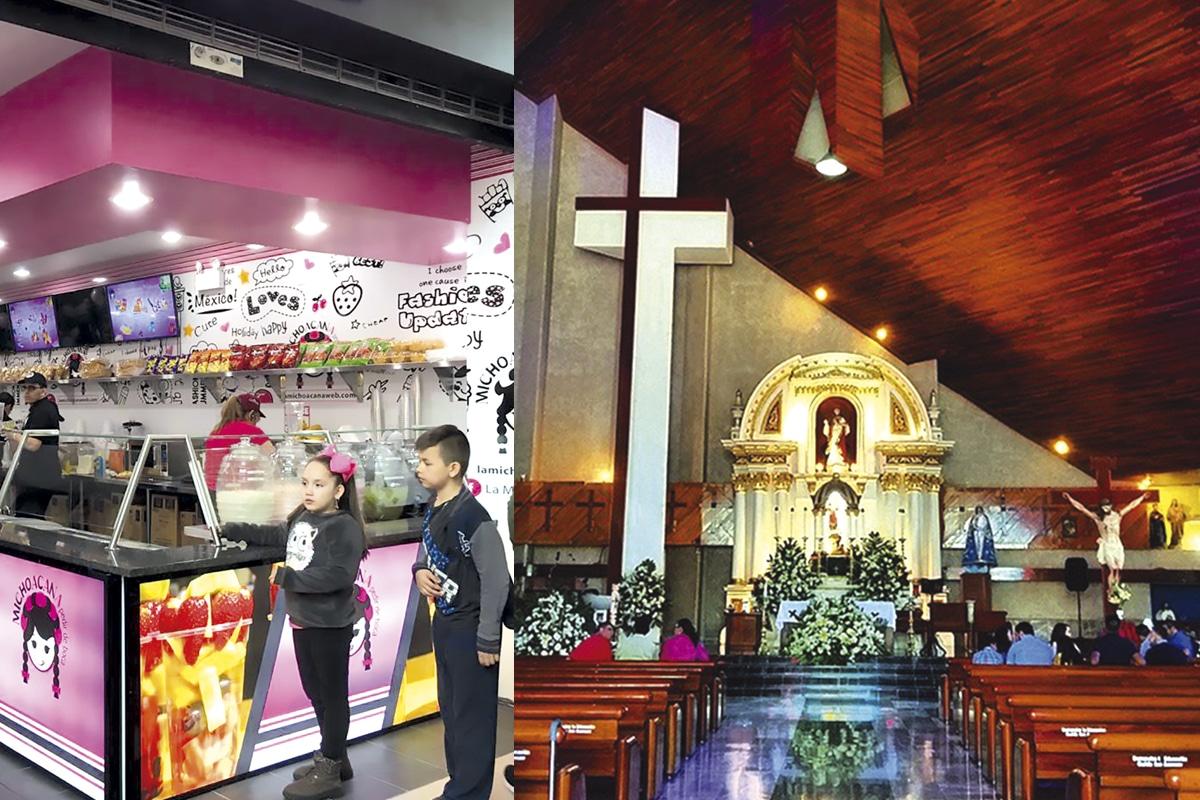 La parroquia del Sagrado Corazón, ubicada en Tocumbo, fue construida a partir del negocio de las paletas.