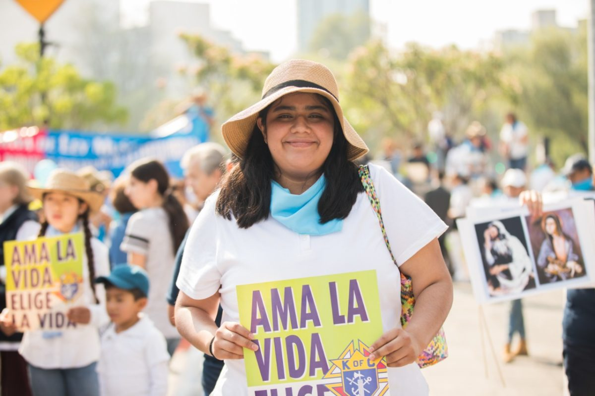 Este 3 de octubre se realiza la Marcha por la Mujer y por la Vida. Foto: María Langarica