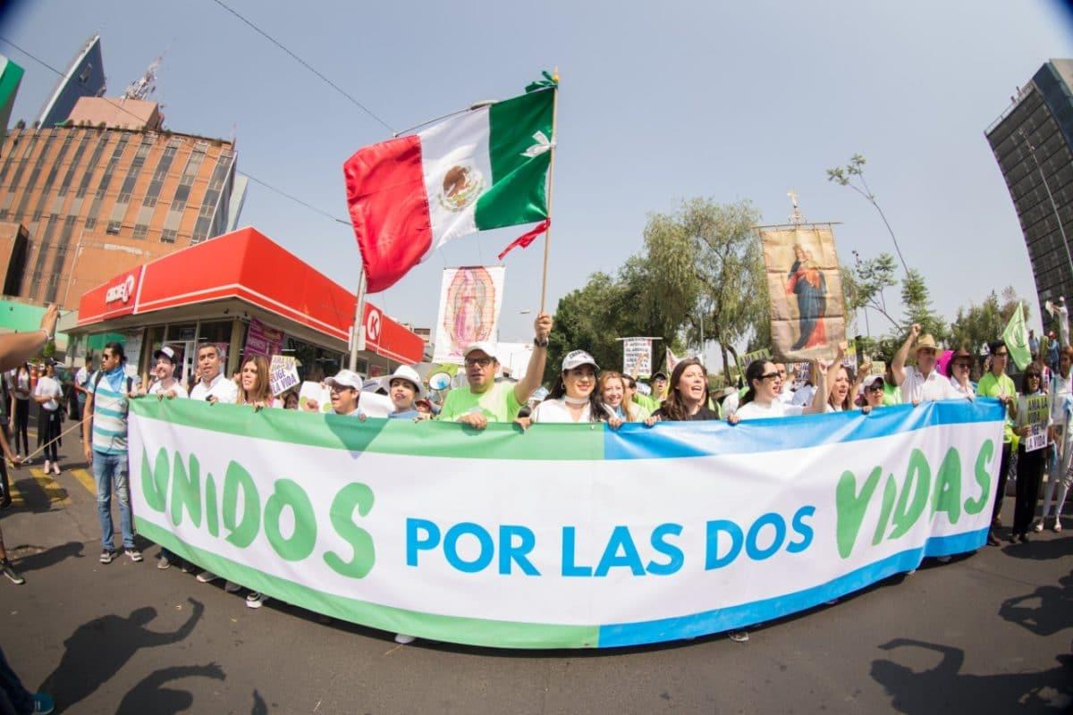 Miles de personas asistieron a la Marcha por la Vida. Foto: María Langarica