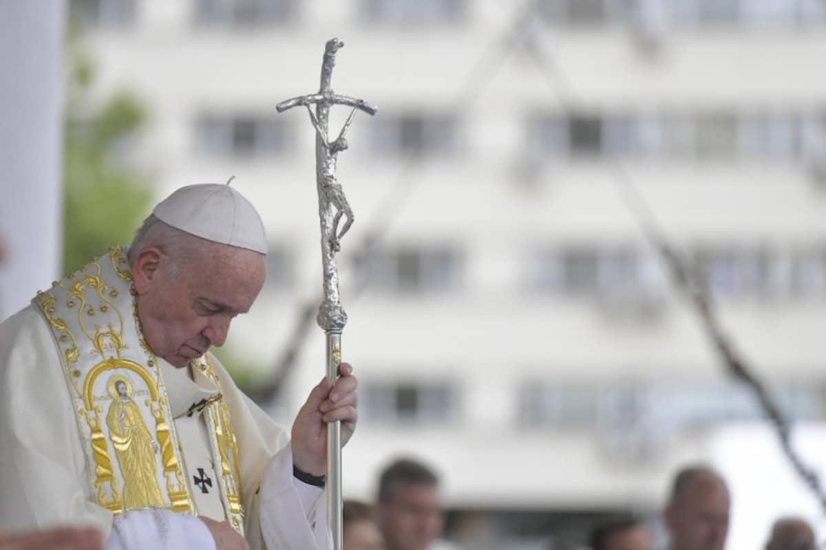 El Papa Francisco en su viaje a Bulgaria. Foto: Vatican Media