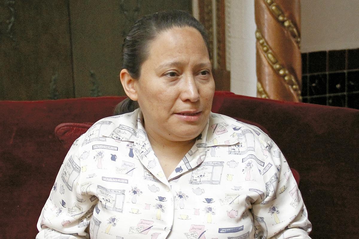 La hermana María Paz Vázquez, directora interina de la casa hogar. Foto: Alejandro García