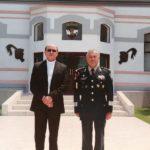 Monseñor Salvador González visita el Colegio de Defensa Nacional