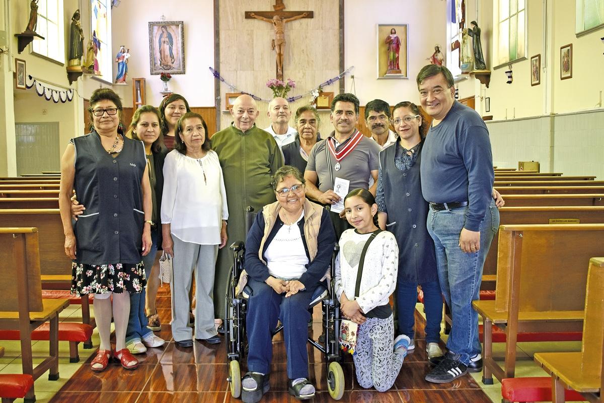 La iglesia de San Vicente Labrador tiene actividades para todos. Foto: Ricardo Sánchez