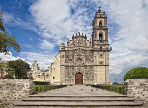 Esta iglesia es el corazón de Tepotzotlán