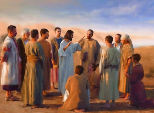 Comentario al Evangelio: Por ahora no...
