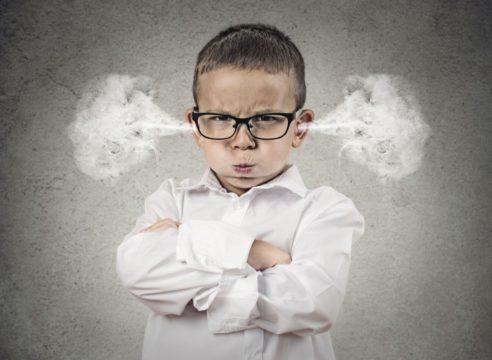 Tres técnicas para controlar la ira de tus hijos