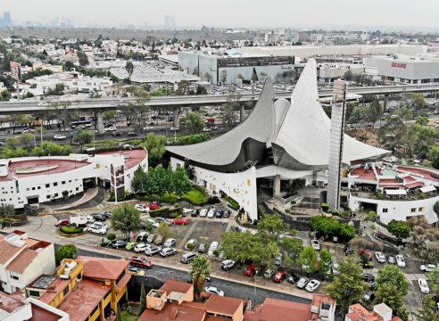 La iglesia icónica del sur de la Ciudad de México