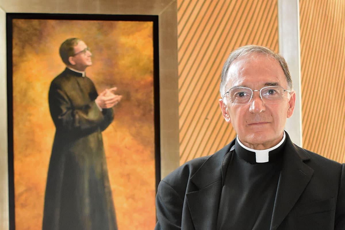 Padre Francisco Cantú, párroco. Foto Ricardo Sánchez