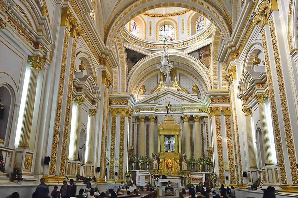 El santuario de Chalma, en el Estado de México.