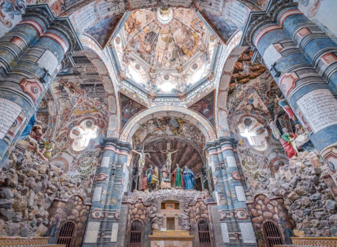 Conoce la 'Capilla Sixtina' de Atotonilco, Guanajuato