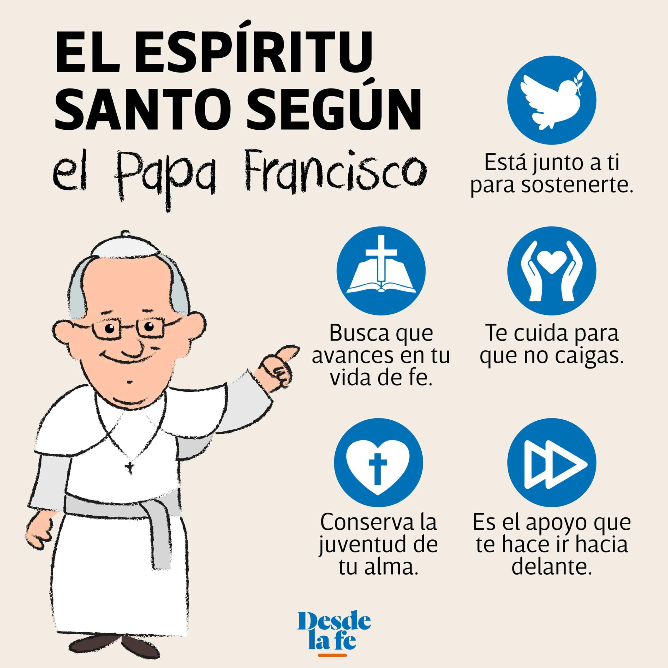 El Espíritu Santo según el Papa Francisco.