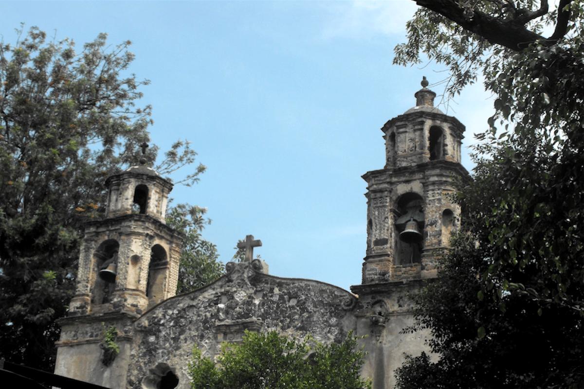 La iglesia de la Conchita fue construida en 1525.