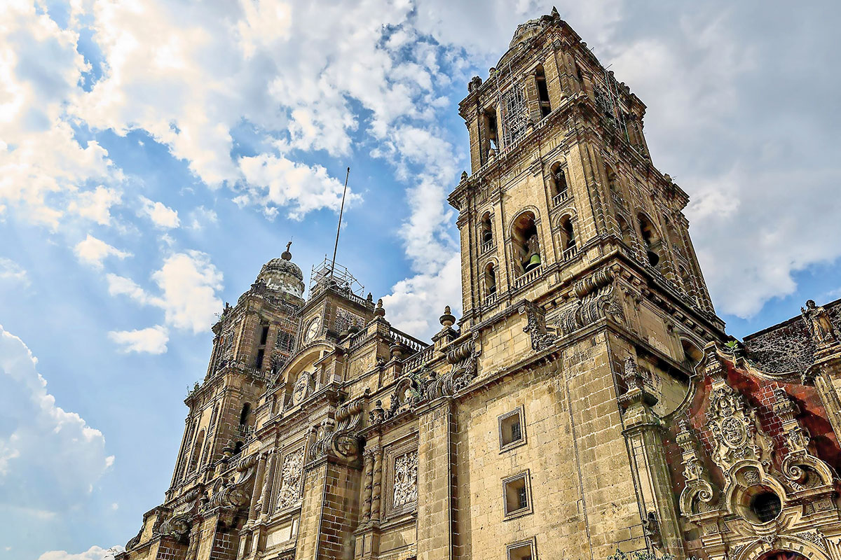 La Catedral de México.