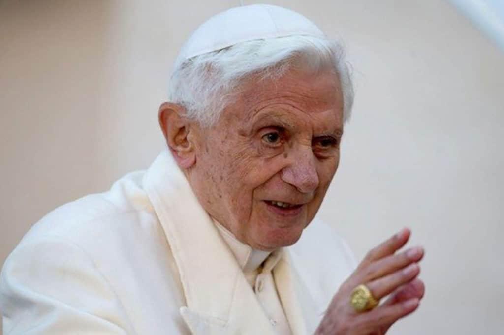 El Papa Emérito Benedicto XVI. Foto: Vatican Media