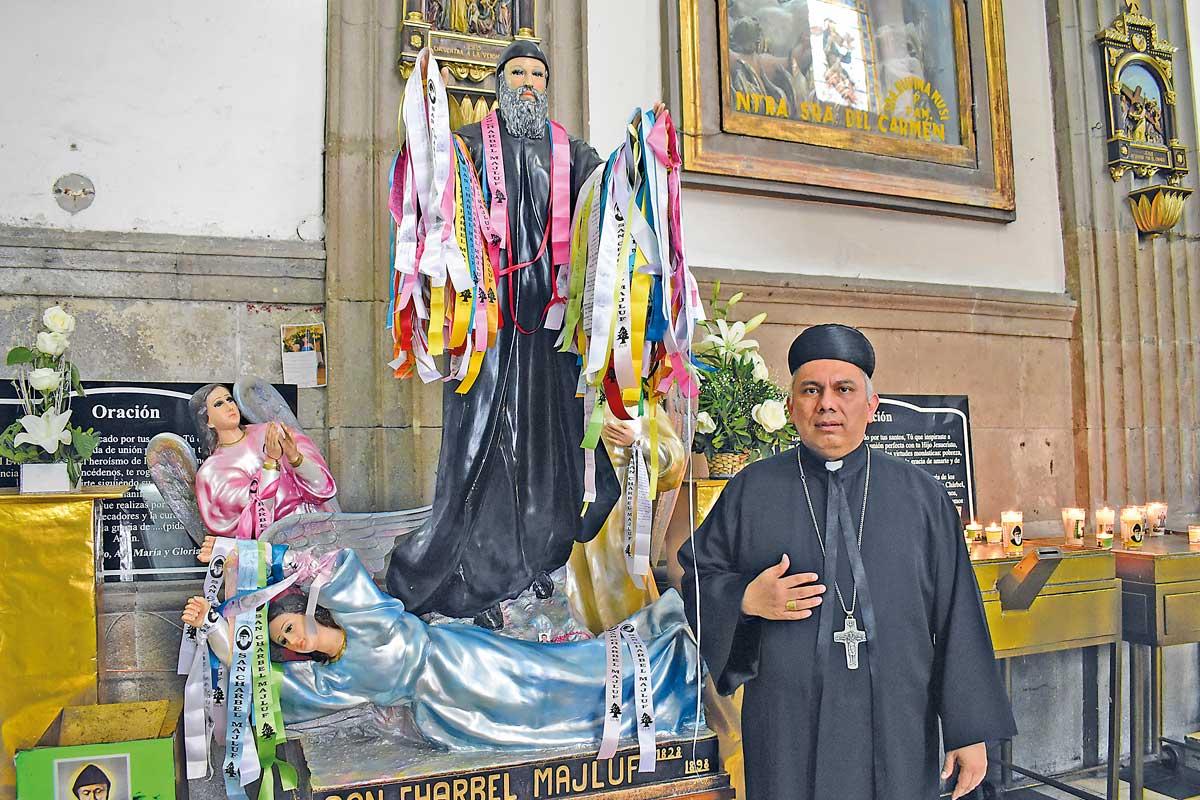 Monseñor Rogelio Peralta, rector de la Catedral de Balvanera. Foto: Ricardo Sánchez.