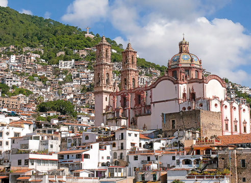 La iglesia de Santa Prisca, el tesoro de Taxco
