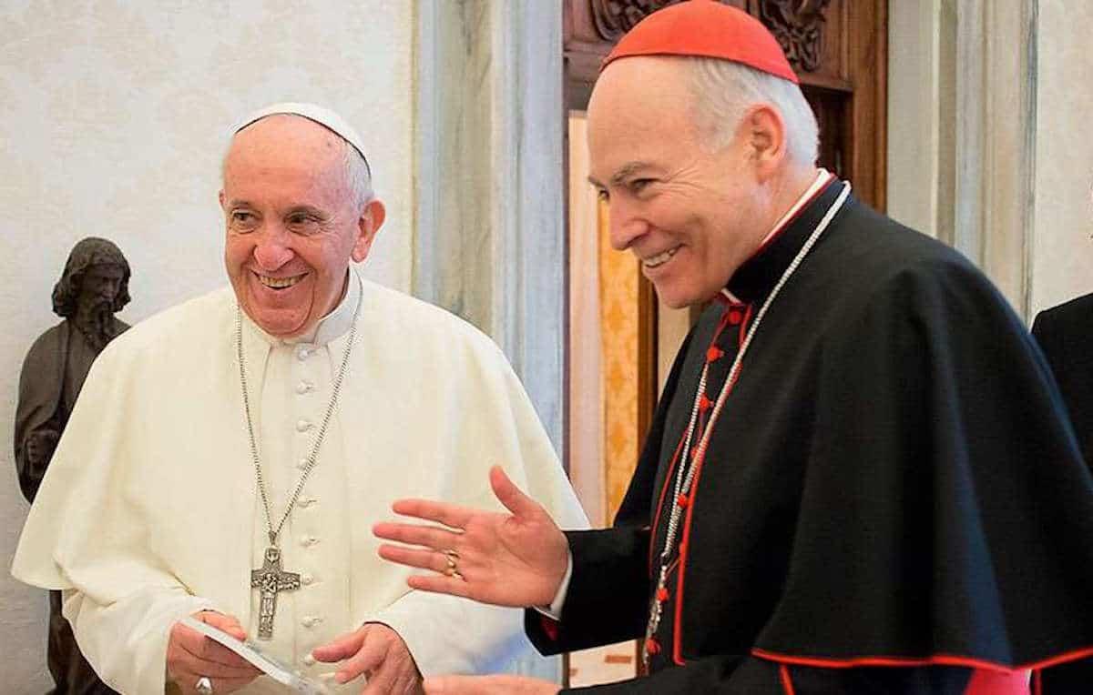 El Papa y Aguiar
