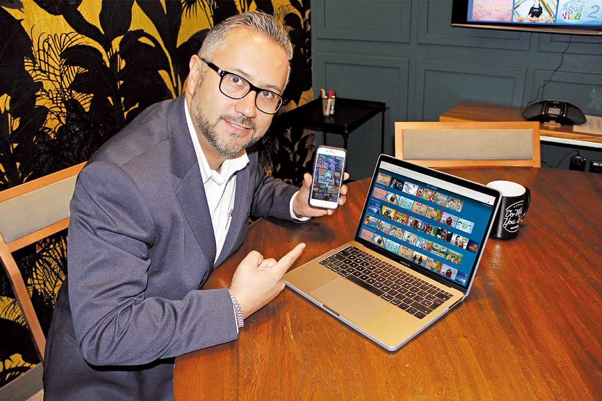 Famflix busca contrarrestar la oferta de contenidos inseguros. Foto: Alejandro García