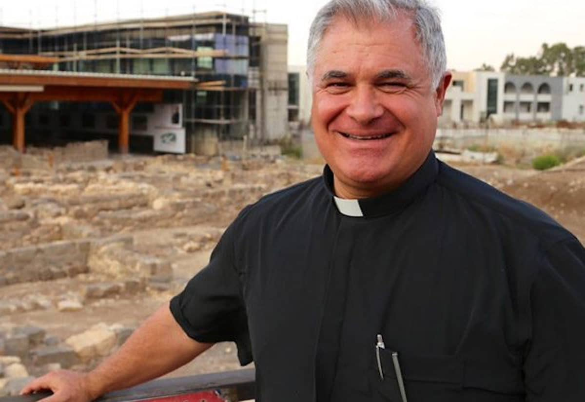 El padre Juan Solana. Foto: Proyecto Magdala