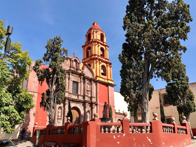 El templo Oratorio de de San Felipe Neri en San Miguel de Allende.