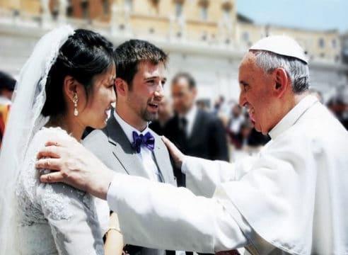 8 consejos del Papa Francisco para un Matrimonio feliz