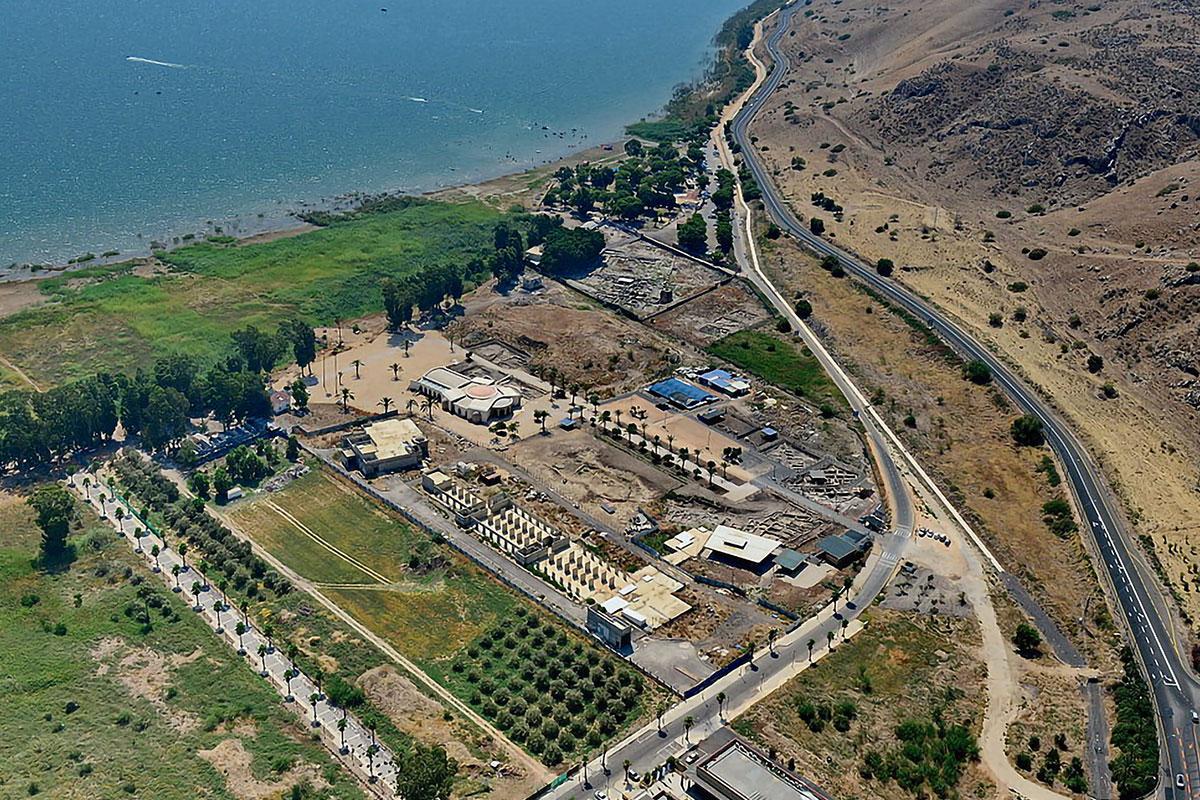 El Proyecto Magdala se encuentra a las orillas del Mar de Galilea, en Tierra Santa.