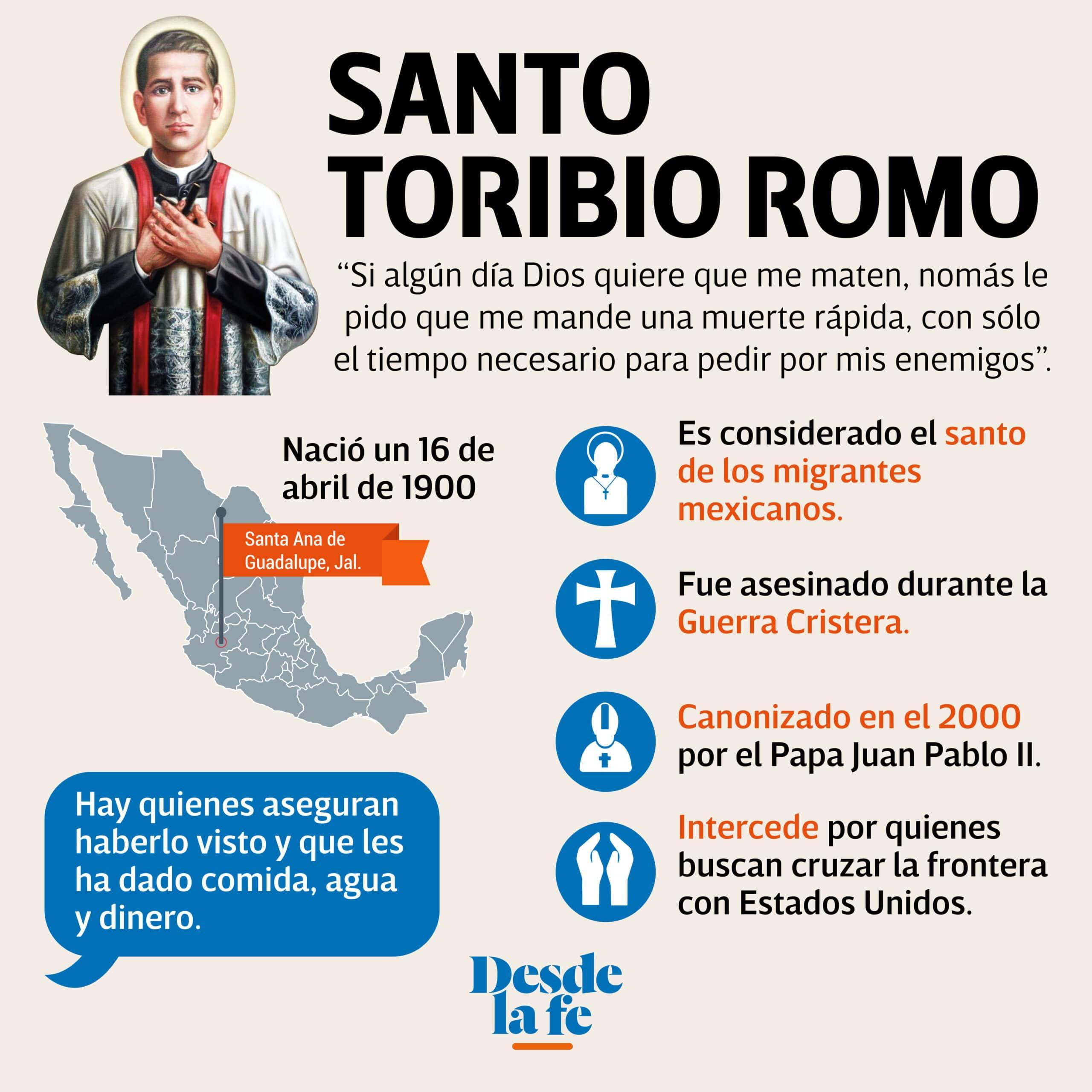 Santo Toribio Romo.