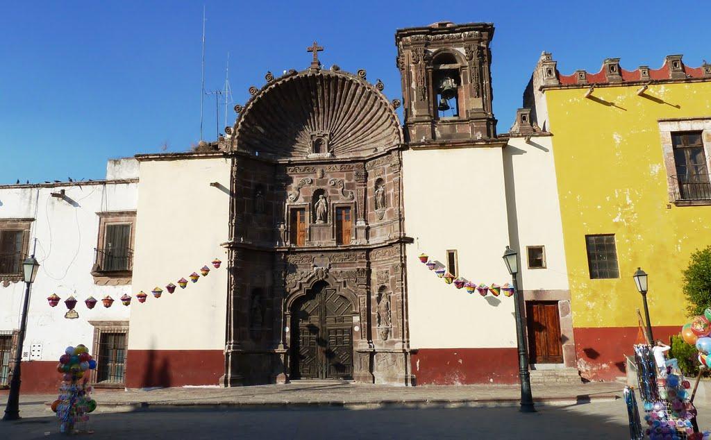 La Iglesia de Nuestra Señora de la Salud en San Miguel de Allende.