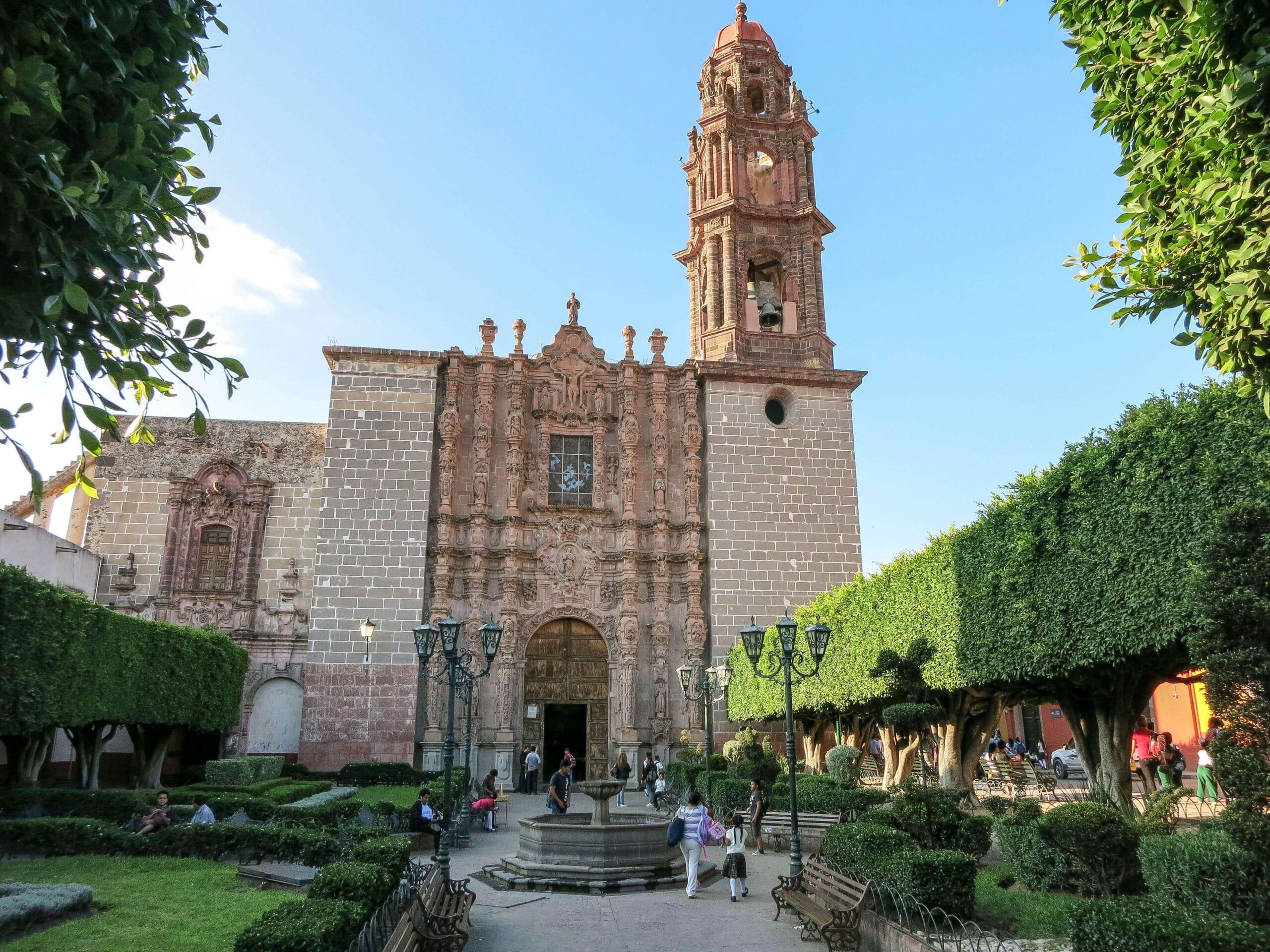 Capilla de la Tercera Orden en San Miguel de Allende.