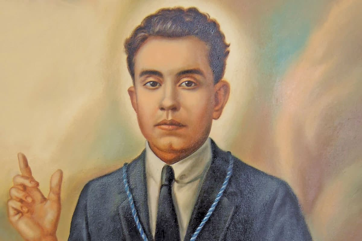 El beato Anacleto González Flores.
