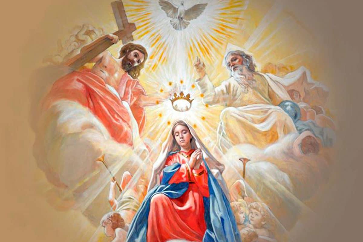 María Reina del Cielo.