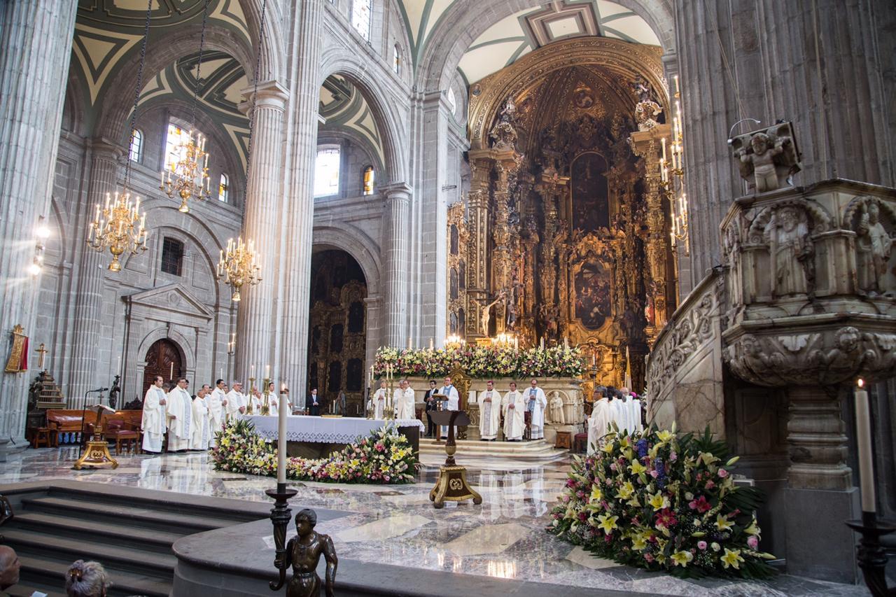 El Altar de los Reyes en la Catedral de México. Foto: María Langarica