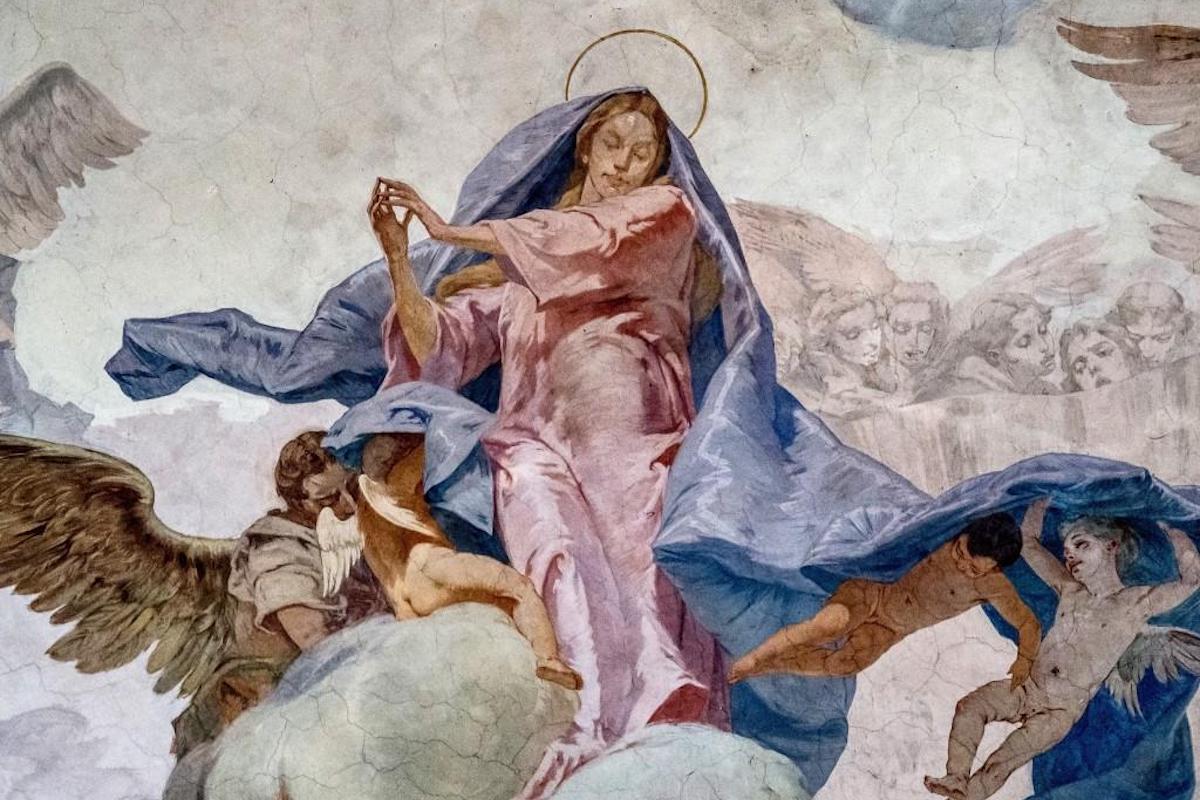 La Iglesia celebra la Asunción de María el 15 de agosto. Foto: Cathopic