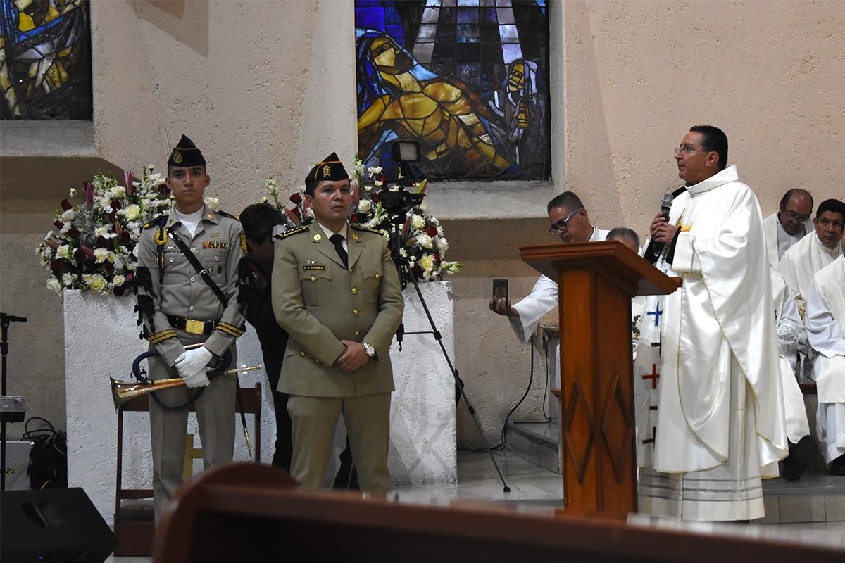 Capellanía Militar Cristo Rey de la Paz. Foto: Ricardo Sánchez.
