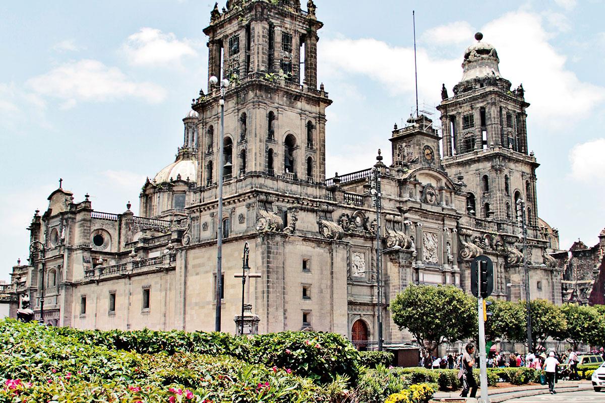 La Catedral de México es la sede de la Arquidiócesis de México. Foto: Ricardo Sánchez