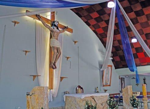 Esta parroquia fomenta la devoción al Cristo de la Salud