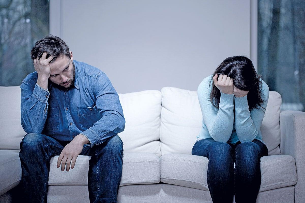 """No existe el """"divorcio por la Iglesia"""", pero la separación puede ser inevitable."""