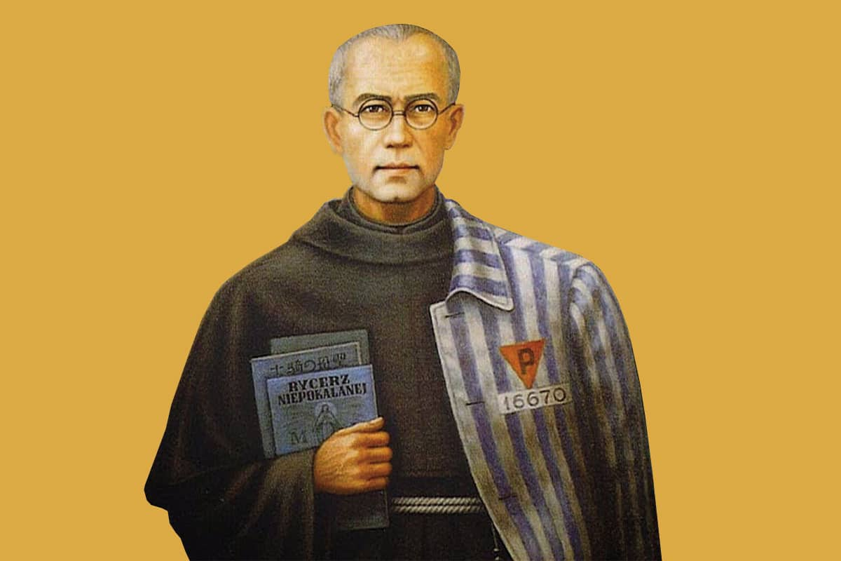 San Maximiliano Kolbe es Patrono de nuestro difícil siglo XX.